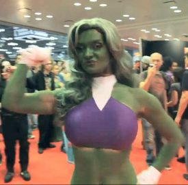 she hulk cosplay
