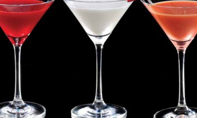 different kinds of martinis