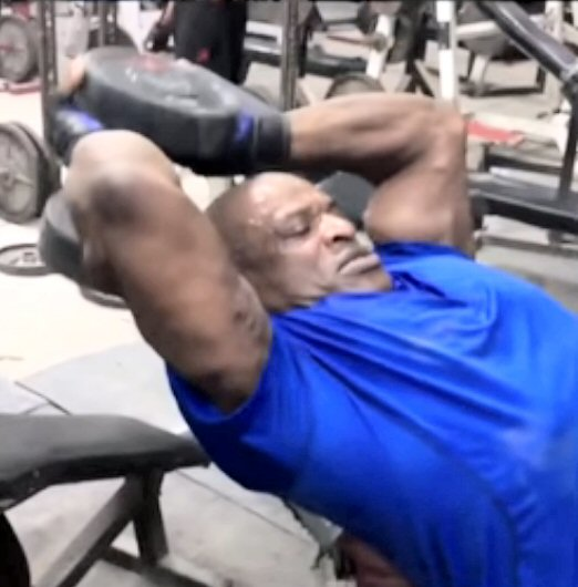 Ronnie Coleman injury