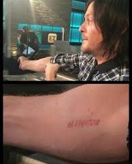 Norman Reedus tattoos